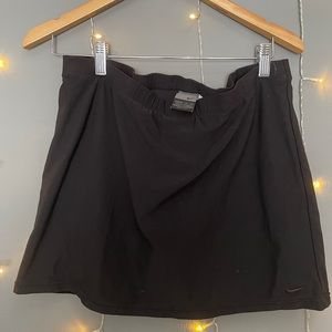 Grey Tag Tennis Skirt